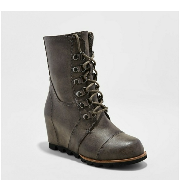 75620a0d766b Marisol Lace Up Wedge Hiker boots. M 5a37aed59a9455a1800439d4. Other Shoes  ...